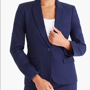 Jcrew Cotton Work Blazer